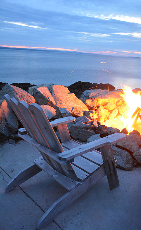 deer island chair fire